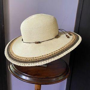 Panama Jack straw hat - one size NWOT